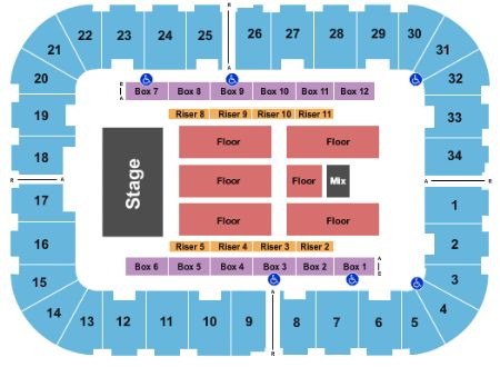 Roanoke Civic Center Seating Chart Brokeasshome Com