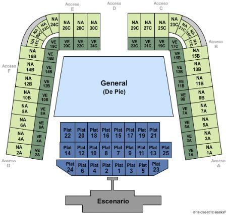 Estadio Foro Sol Tickets and Estadio Foro Sol Seating Chart - Buy Estadio Foro Sol Mexico City ...
