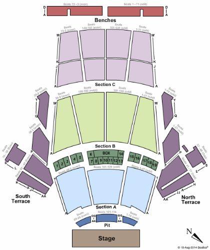 Greek Theatre Ca Tickets And Greek Theatre Ca Seating