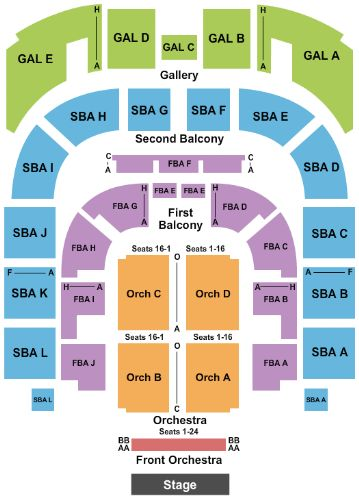 Township Auditorium Tickets And Seating Chart