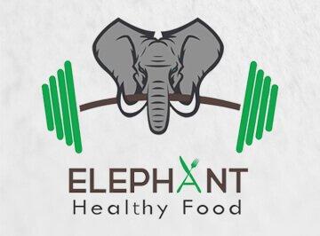 تصميم هوية مطعم healty food