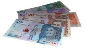コロンビアの通貨について