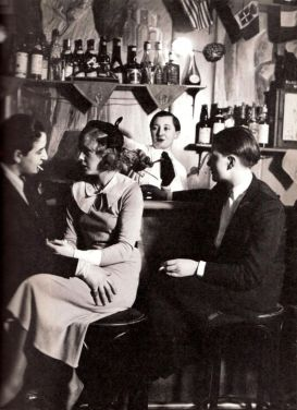 Lesbian Bar, Paris 1930s by George Brassai