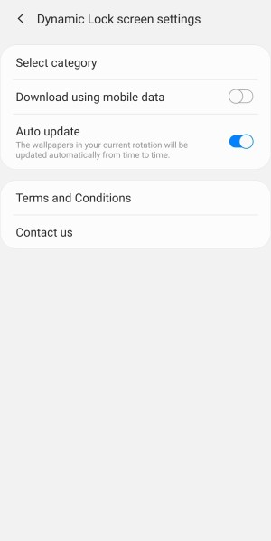 How to Set Dynamic Lock Screen on Samsung Galaxy ( Android 10)