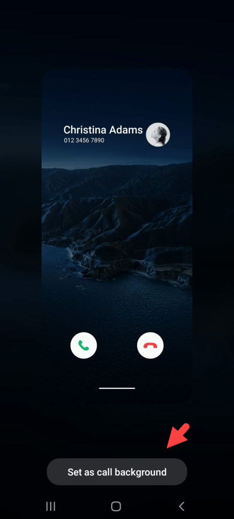 How to Change Call Screen Background on Samsung S10, S20, Note 10
