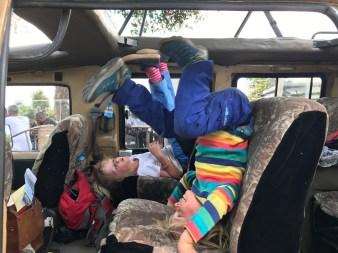 Nach vielen Stunden in Bus und Jeep