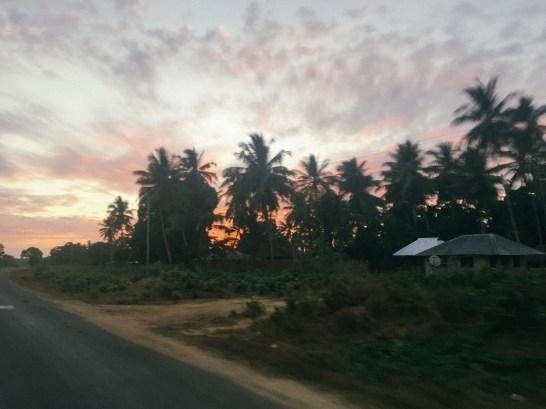 Auf dem Weg nach Mtwara, 5:30 Uhr (EAT)
