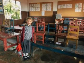 Im Klassenraum der Pre-Unit