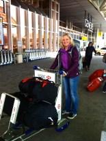 @the Geneva airport leaving for Kathmandu