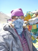 Fighting against  dust and cold