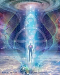 Trinity Connection with Creator by Olga Kuczer