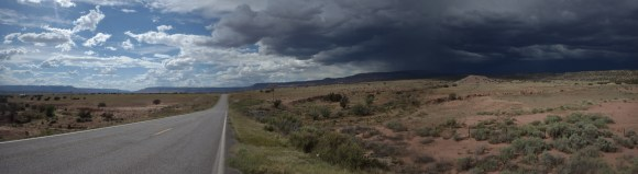 Desert storms in NM.