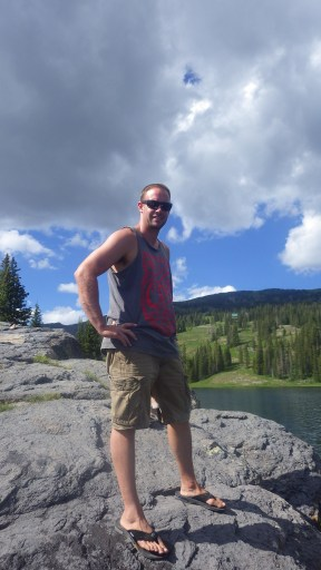 Alex at Lake Irwin, Crested Butte CO