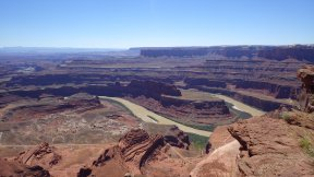 Not the Grand canyon, Dead Horse Point, Moab, Utah.