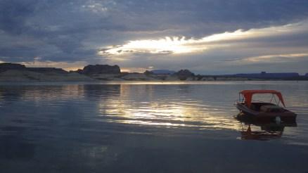 Lake Powell at Lone Rock, Utah.