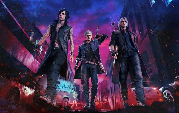 Devil May Cry 5 Dante TGS 1