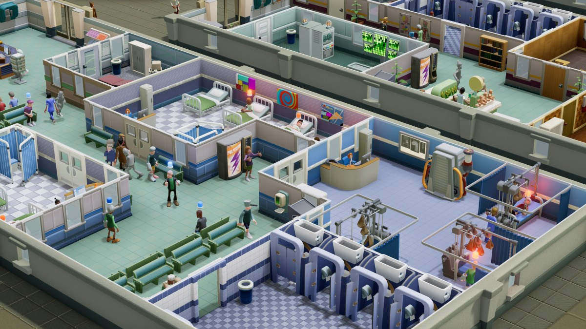 Two Point Hospital Sandbox Mode 1