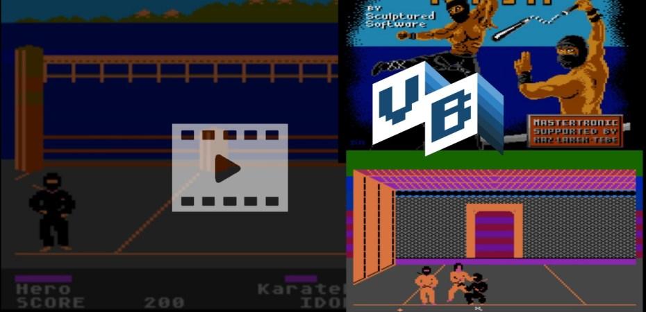 Atari 8bit Ninja