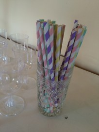 Paper straws make me happy