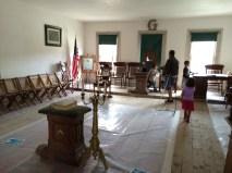 I think Mom and I enjoyed the Mason's Hall the most this time. Grandpa Bob was a Mason.