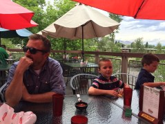 Fiesta at the Mexican restaurant for Father's Day