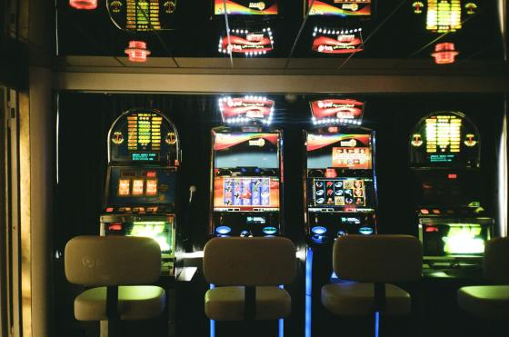 Reopening gambling venues will create health risks. Image of pokie/slot machine