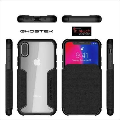 Ghostek Exec 3 Case for iPhone XS / X | Military Drop Tested Rugged Case
