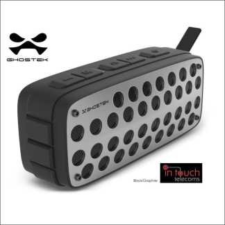 Ghostek Forge Rugged Wireless Bluetooth Speaker | IPX4 Water Resistant