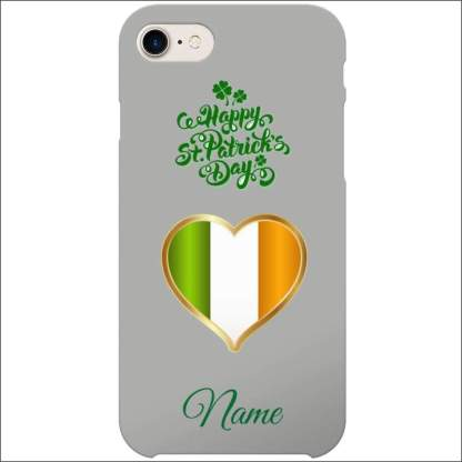 iPhone 8 Case   St Patricks Day Optional Personalised