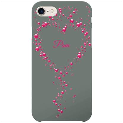 iPhone 8 Case | Valentine Hearts D3 (Optional Name/Message)
