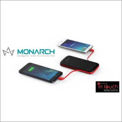 Monarch Gadgets Infinity Power Bank with Dual Output 10000mAh Capacity
