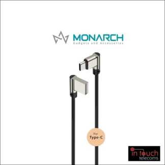 Monarch Gadgets W-Series | Type-C USB Cable - Black