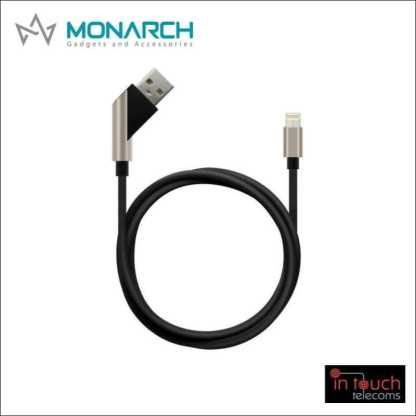 Monarch Gadgets X-Series | Lightning USB Cable - Blue