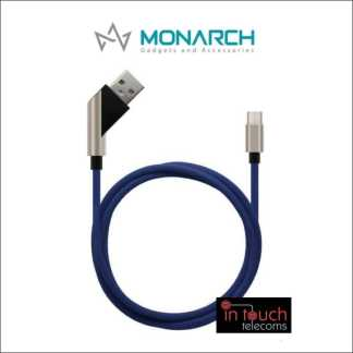 Monarch Gadgets X-Series | Type-C Cable - Blue