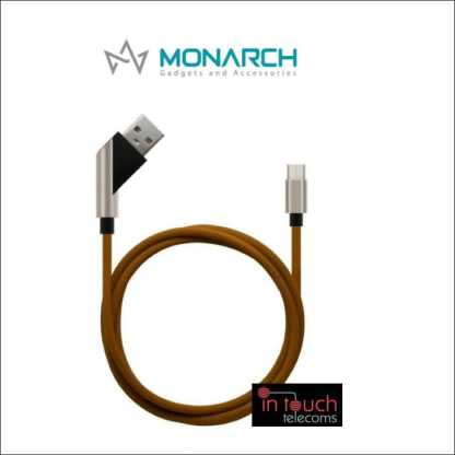 Monarch Gadgets X-Series | Type-C Cable - Brown