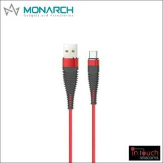 Monarch Gadgets Y-Series | Type-C USB Cable - Red