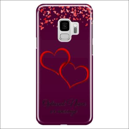 Samsung Galaxy S9 Case | Valentine Hearts D1 (Optional Name/Message)