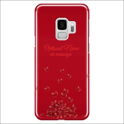 Samsung Galaxy S9 Case | Valentine Hearts D2 (Optional Name/Message)