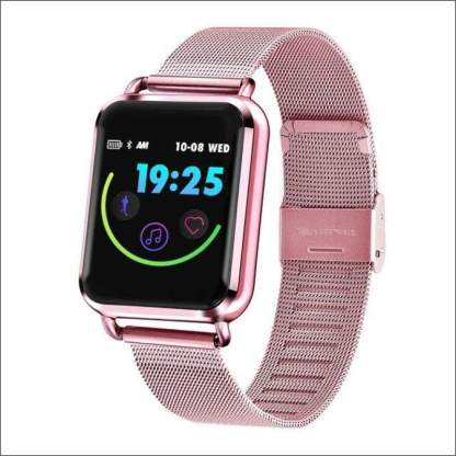 Sports Fitness Smartwatch for Apple Samsung Huawei | Rose Gold, Silver, Black