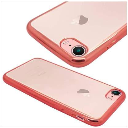 Xquisite iPhone 8/7/SE Metallic Bumper Case - Rose Gold
