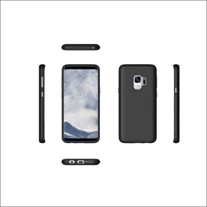 Xquisite Samsung S9 Dual Layer Tough Protective Case - Black