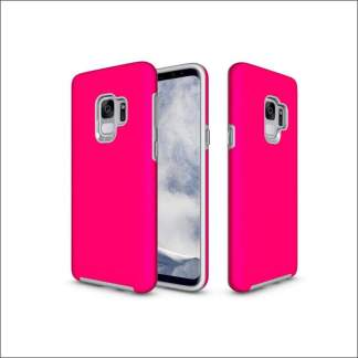 Xquisite Samsung S9 Dual Layer Tough Protective Case - Pink
