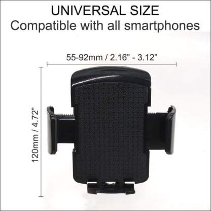 Universal Long Arm Windshield Mobile Car Mount Holder | iPhone, Samsung