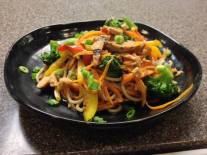 Waterworks Cafe | Asian Stir Fry with Chicken