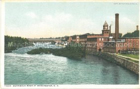 Photo Courtesy of Manchester Historic Association | Merrimack River