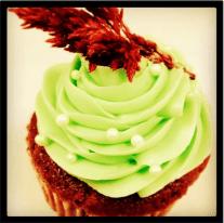Baked Downtown| red velvet cupcake