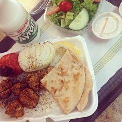 USA chicken & biscuit | Kabobs and Aryan Yogurt
