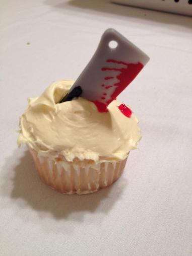 Majestic | Sweeney Todd cupcake