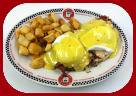 Red Arrow Diner   Grilled Chicken Bomb Hashbrown Special