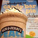 Ben & Jerry's | candy bar milkshake